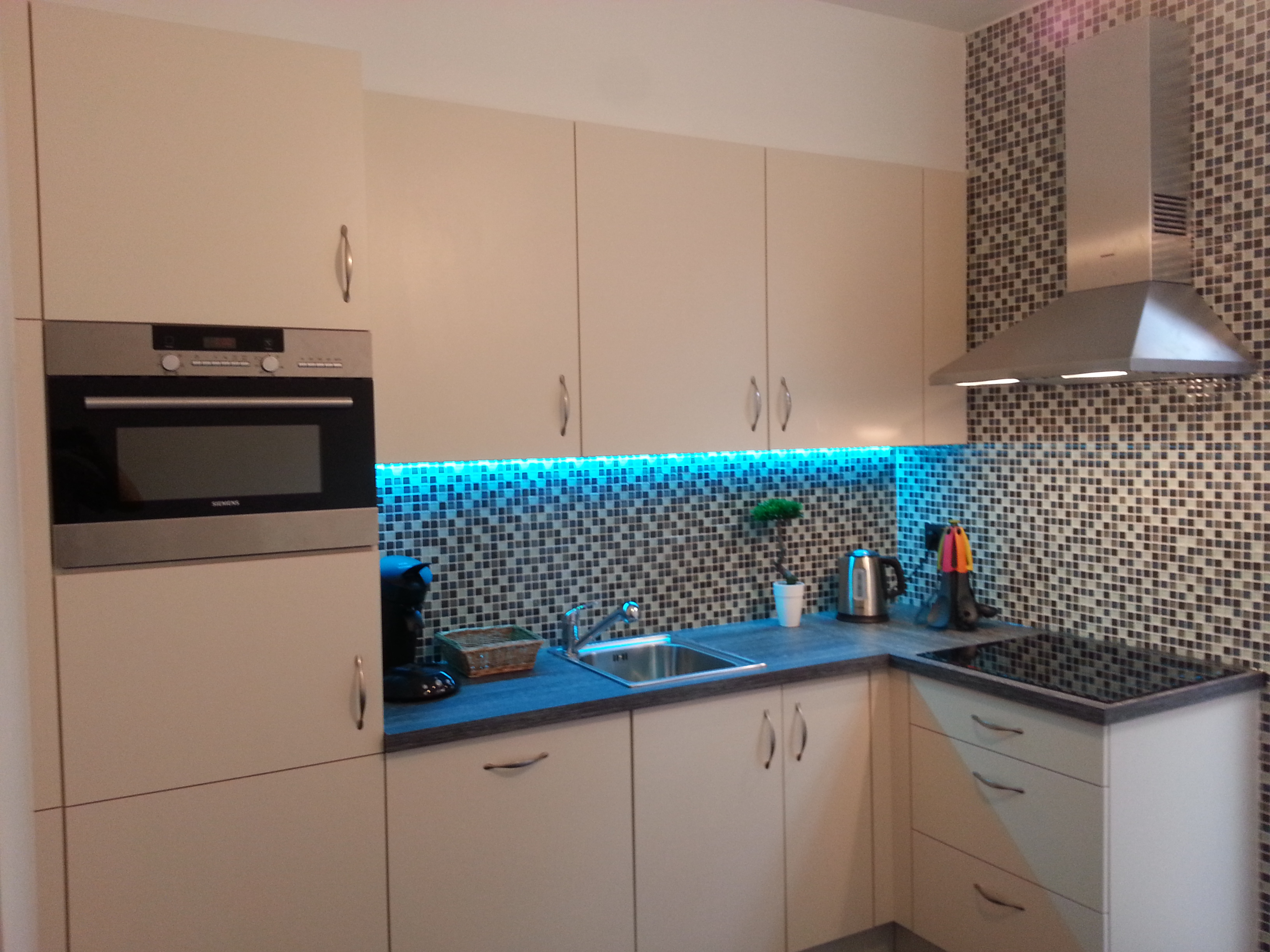 Holiday apartment with equipped kitchen
