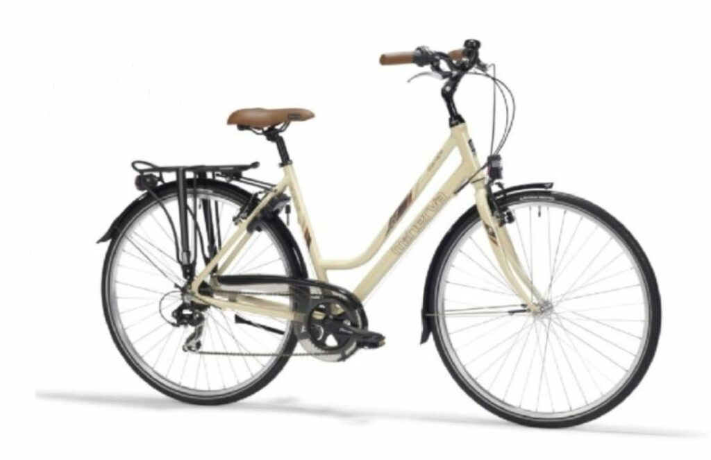 Two city bikes available